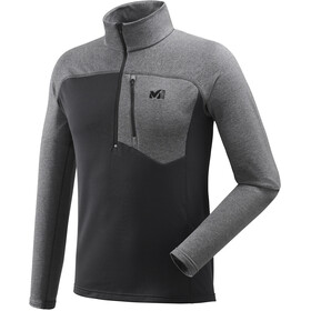 Millet Technostretch Zip Shirt Men Noir/Heather Tarmac